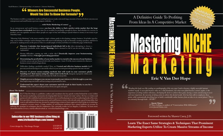 Click Here to Purchase Mastering Niche Marketing